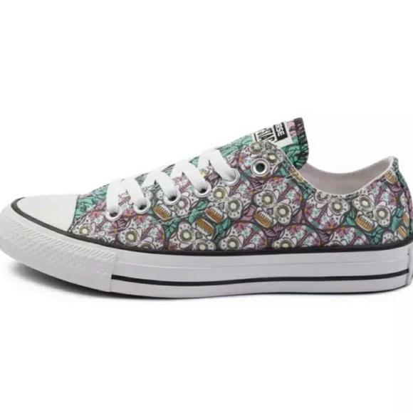 e928d2f65013 Converse Shoes - Converse all star chuck taylor lo sugar skull